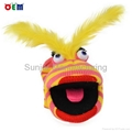 Hot Selling Knitted Hand Puppets for adult stripy finger hand puppet for sale 5