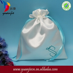 Customized Embroidered Satin Gift Bag For Packing