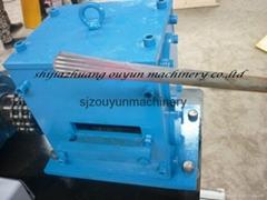 Hot roll fishtail machine