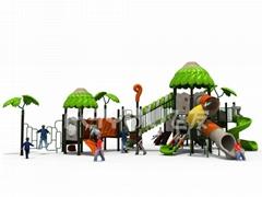 滑滑梯、組合滑梯、儿童滑梯定製、戶外滑梯00401