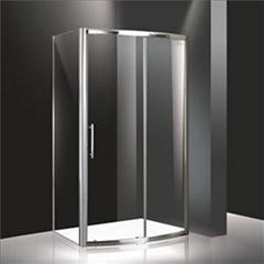 XUTE900U Hinge Door With 2 Inline Panels