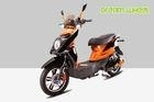 "Pedal Assisted Electric Scooter Bicycle Orange 16"" X 3.0 Tire Two Wheels 48V 250"