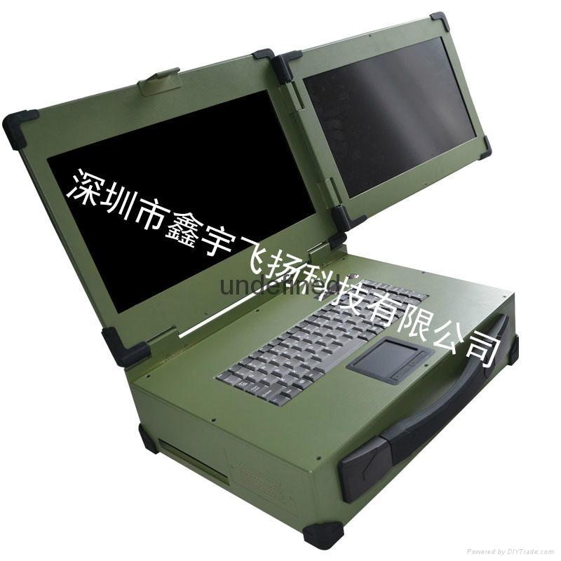 双屏工业便携机便携式机箱 1