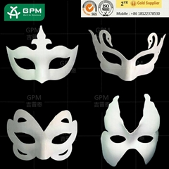 Factory Wholesale Full Face Blank White Masquerade Masks for Party