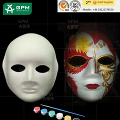 Hot Sell China Manufacturer Wholesale White Venetian Face Mask Pass SGS Certific