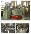 WPC PVC high speed heating cooling mixer