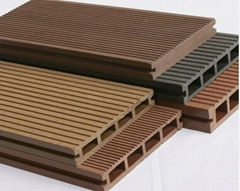 Wood PVC PE Plastic WPC Decking Profiles Extruder