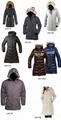 padded down fur jacket coat 4
