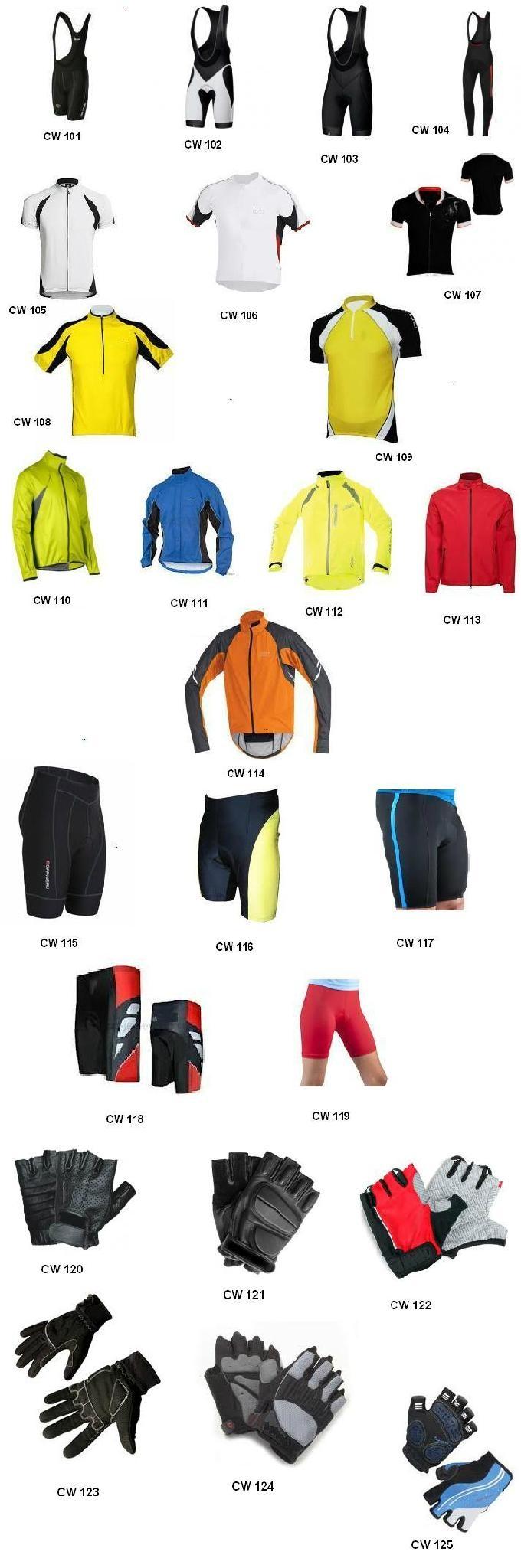 cycling wear suits shorts jerseys 3