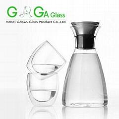 borosilicate clear glass tea kettle,glass teapot