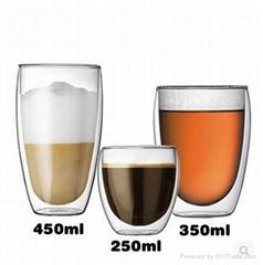 borosilicate glass drinkware cups mugs