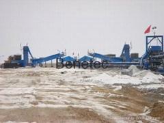 coarse salt plant coarse  salt equipment salt machinery