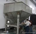 salt storage bay material silo quantity