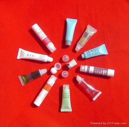 plastic cosmetic BB cream tube 1