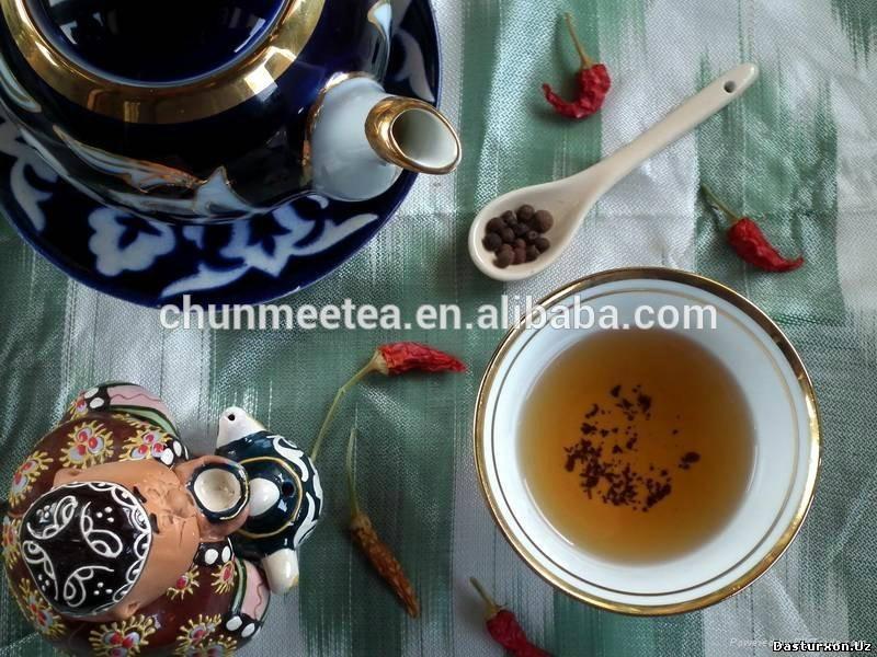 china green tea factory supply chunmee tea FLECHA tea 1