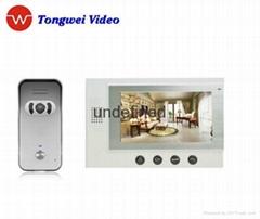 Featured Video Door Intercom System with 2 unclockings