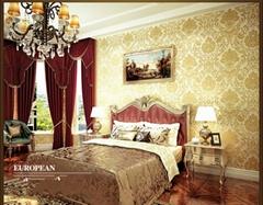 latest modern decorative pvc wallpaper