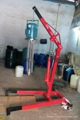 Emulsifying machine, shearing machine,