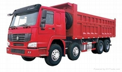 HOWO SERIES CARGO TRUCK 8x4