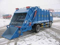 HOWO SERIES COMPRESSED GARBAGE TRUCK