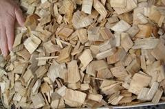 Acacia wood chips