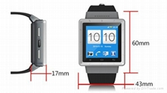 Android4.4 Smart Watch Phone with SIM Card