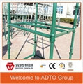 Q235 painted cuplock scaffolding