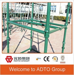 Q235 cuplock scaffolding standard manufacturer for construction
