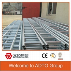 Bulid galvanized ladder beam for pipe and clamp system