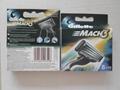 Mach3 Turbo Cartridges Replacement Razor Blades Mach3