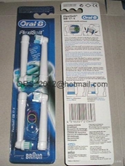 Braun Oral B Precision Clean Toothbrush Heads Replacement-4pcs