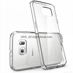 i-Blason Samsung Galaxy S6 Edge Halo Scratch Resistant Hybrid Clear Case