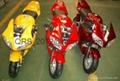 MotoTec 2 Stroke 24in Tall Mini Pocket Bike Gas Kick Start  49cc