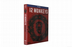 12 Monkeys: Season 1 = NEW Blu-Ray Region 1