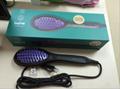 DAFNI Hair Straightener Brush Hair Ceramic Eletric Straightening Irons Comb