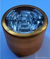 chromium crusher Metal grinder 4 layer Dia 40/50mm smoke detector grinder 4