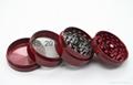 chromium crusher Metal grinder 4 layer Dia 40/50mm smoke detector grinder 1