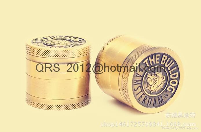 chromium crusher Metal grinder 4 layer Dia 40/50mm smoke detector grinder 6