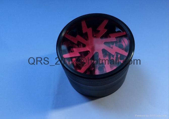 chromium crusher Metal grinder 4 layer Dia 40/50mm smoke detector grinder 9