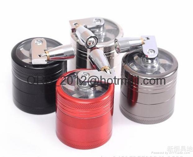 chromium crusher Metal grinder 4 layer Dia 40/50mm smoke detector grinder 10