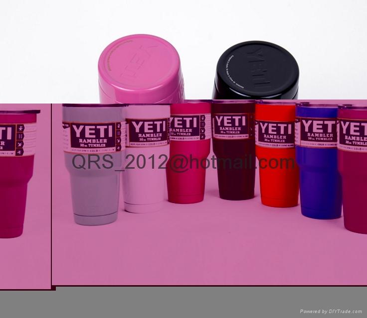 Yeti YRAM30 Powder Coated 30oz Rambler 2