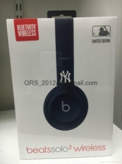 New York Yankees Beats by Dr. Dre Solo2 MLB Edition Wireless Headphones