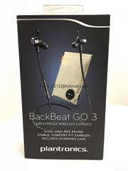 Headphones for Plantronics Backbeat Go 3 Bluetooth Copper