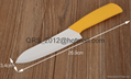 "Ceramic Knife Set Chef Kitchen Knives 3"" 4"" 5"" 6"" + Peeler + Holder 2"