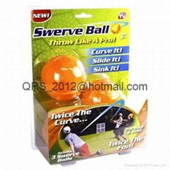 Swerve Ball - The Amazing Ball That Lets Anyone Throw Like a Pro - As Seen on TV (Hot Product - 1*)