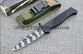 Tiger Print USA M9 Automatic Knife