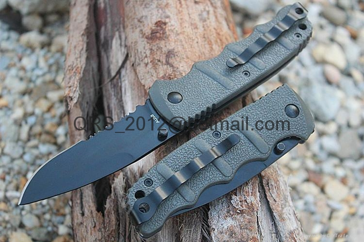 Tiger Print USA M9 Automatic Knife 7