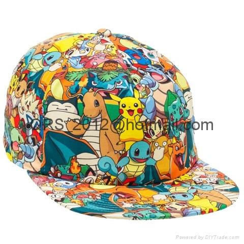 Bioworld Pokemon AOP Sublimated Cap Hat