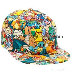 Bioworld Pokemon AOP Sublimated Cap Hat (Hot Product - 1*)
