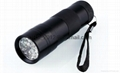 UV Flashlight Pet Urine Detector With 12